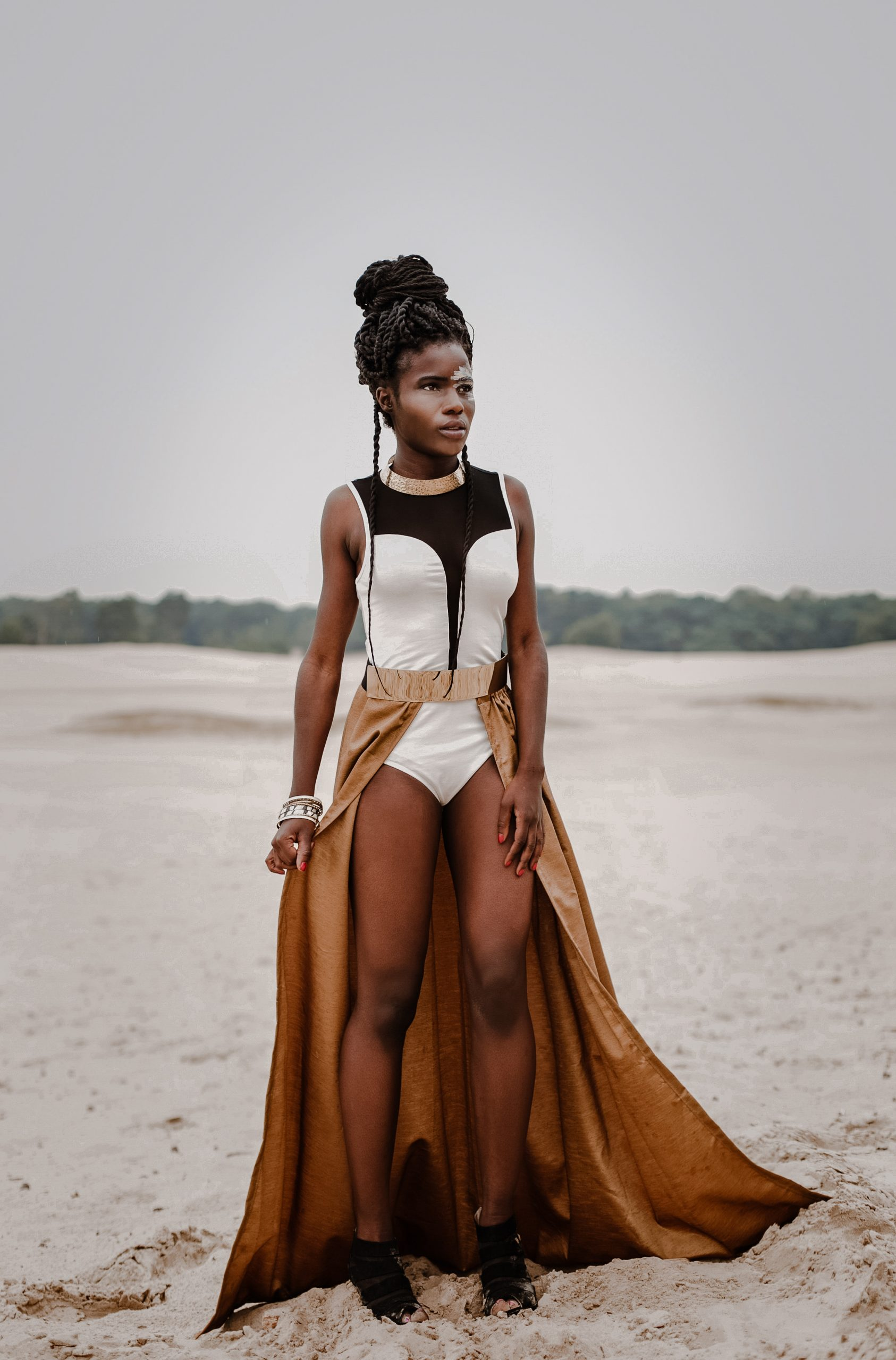 Fashionshoot african woman